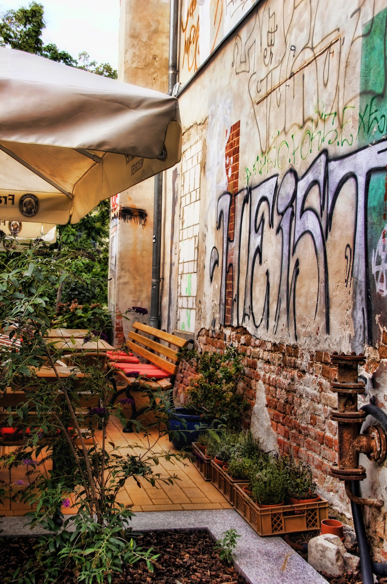MyDailyGerman.com Leipzig cafe
